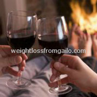 wine and chocolate diet information